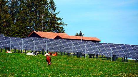 Photovoltaic Mont Soleil, Switzerland