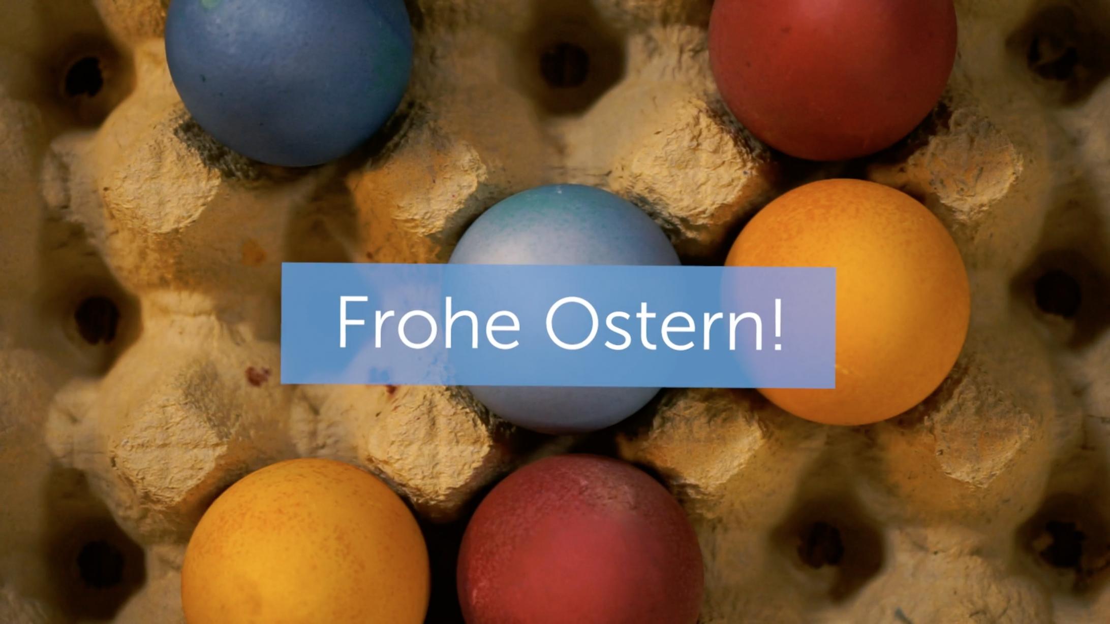 Standbild Ostereier färben